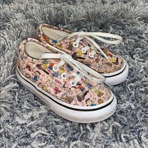 PEANUTS infant VANS shoes
